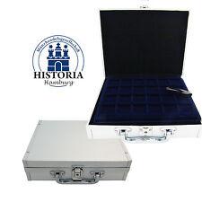 Leuchtturm Koffer Klein Nr. 345064 für 144x 2 Euro in Kapseln, inkl. 6 Tableaus