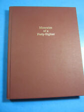 MEMORIES OF A FORTY EIGHTER MUELLER GERMAN  BOOK