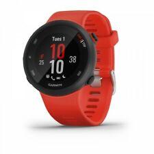 Garmin Forerunner 45 Lava Red GPS Running Watch - 42mm Case Size 010-02156-06