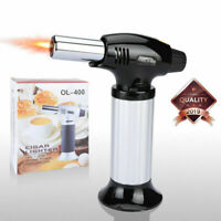 Micro Torch Lighter Welding Adjustable Flame Windproof Butane Refillable Gas