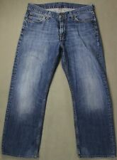 "TOMMY HILFIGER Mens Blue Denim MADISON JEANS Size Waist 36""  Leg 28"""