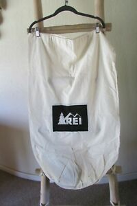 NEW AREI BEIGE COTTON DRAW STRING XL LAUNDRY BAG