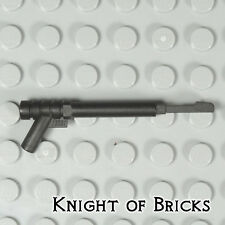 Lego Minifigure BLACK Weapon Spear Gun with Squared Trigger and Thick Spear Base