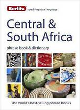 Berlitz Phrase Book & Dictionary Central & South Africa Latest Edition