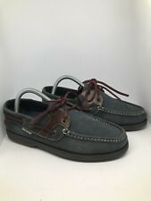 Mens Hush Puppy leather slip on Lace Up loafers shoes UK 8 EU 42