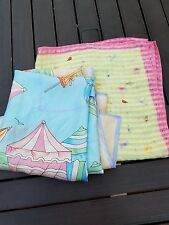 Ladies Scarves Set of Two Summer Colors