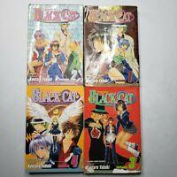 Black Cat Volume 1-4 Shonen Jump Manga Kentaro Yabuki