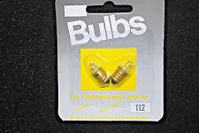 Lot of 96 / Screw Base #112 Flashlight Bulbs For 1 'AA' Battery Lights #S4720