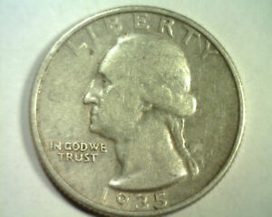 1935 WASHINGTON QUARTER EXTRA FINE XF EXTREMELY FINE EF NICE ORIGINAL COIN