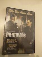 dvd INFILTRADOS CON DI CAPRIO  ,MATT DAMON Y JACK NICHOLSON ( precintado nuevo )