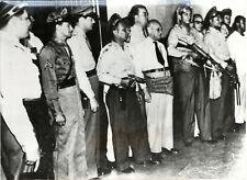 Photo - Panama - 1949 - Trois Présidents en huit jours - Garde Présidentielle -