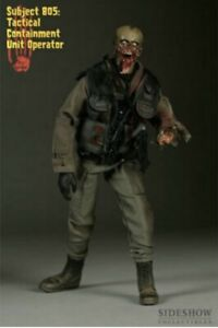 Sideshow Exclusive The Dead SUBJECT 805 TACTICAL CONTAINMENT OP Grey Version NIB