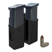 Universal Single Dual Stack Magazine Pouch Holster 9mm Fit Glock Beretta Sig S&W
