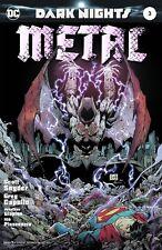 DARK NIGHTS METAL 3 1ST PRINT FOIL STAMPED COVER CAPULLO BATMAN NM