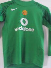 Van der Sar Firmado Portero Camiseta de fútbol del Manchester United cert. de autenticidad/41478 GK