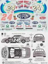 #24 Jeff Gordon Dupont NO BULL Daytona Winner 1999 Chevrolet Slixx Decals  #1450