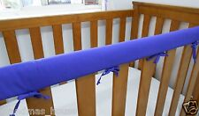 Baby Cot Crib Teething Rail Cover Purple Fits Boori 100% Cotton ***REDUCED***