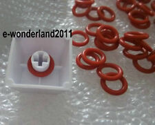 150× Keycap Rubber O-Ring Switch Dampeners RED For CHERRY MX Replace Part