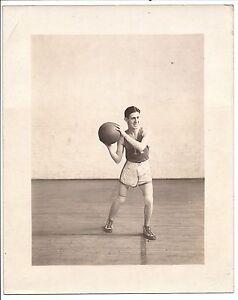 "1920's era Basketball Photo ""K"" 8"" x 10"""