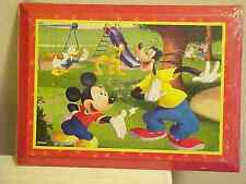 Wood Wall Plaque Disney Mickey Mouse Minnie Donald Duck Pluto Goofy Daisy New