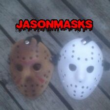 2 CUSTOM MADE Jason Voorhees FRIDAY THE 13th hockey mask Halloween costumes