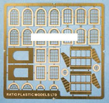 Ratio 309 Industrial Windows - Scratch Building 'N' Gauge Etched Brass Kit 1stPo