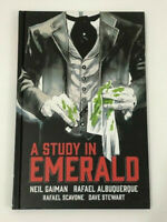 Neil Gaiman's A Study in Emerald Graphic Novel Hard Cover