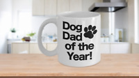 Dad Dog Mug White Coffee Cup Funny Gift Worlds Best Ever Pet Owner of the Year