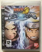 Naruto Ultimate Ninja Storm (PlayStation 3) Factory Sealed REGION FREE Brand New