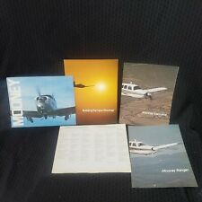 """Original Building the New Mooney Sales Brochure 12 Page 8.5 x 11"""" with extras"""