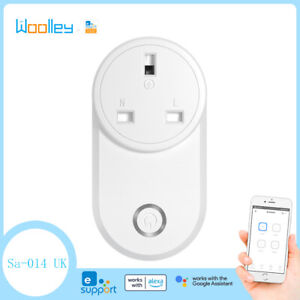 UK WIFI Smart Plug Switch Power Socket Timing Control for eWelink Goole Alexa