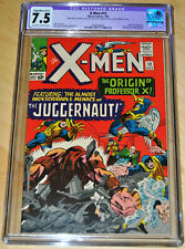 X-Men #12 (B-2) Restored CGC 7.5 (Origin & 1st App Juggernaut) SUPER KEY! LOOK!!