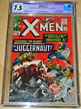 X-Men #12 (B-2) Restored CGC 7.5 (Origin & 1st App Juggernaut) SUPER KEY! LOOK!!