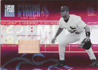 2005 Donruss Elite Passing the Torch Bats #2 Albert Pujols BAT #/250