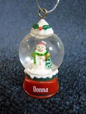 GANZ Snowman Christmas Ornaments  eBay