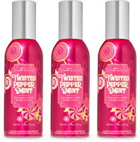 Bath & Body Works Twisted Pepperminrt Concentrated Room Spray X3