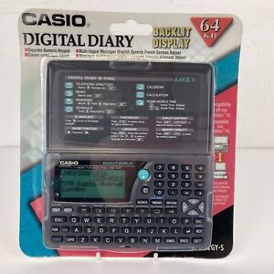 Rare Collectable Casio SF-4700C 64KB Digital Diary PDA Retro Tech SEALED NEW
