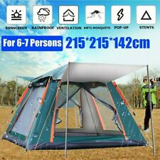 Large Tent, 3-7 Person Automatic Camping Tent Outdoor Ultralarge Large Family...