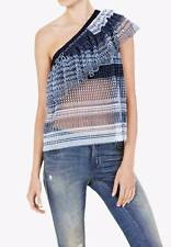 """BNWT SASS & BIDE """"Dreamer Of The Tribe""""  One Shoulder Top - Size 12 - $490"""