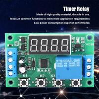 5V/12V/24V LED Adjustable Timer Relay Automation Control Switch Module YYC-2S