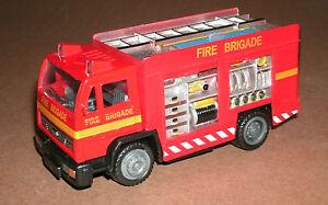 1/43 Scale Fire Brigade Rescue Box Truck Diecast Model - Emergency Vehicle Unit