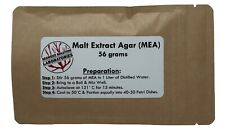 Malt Extract Agar Mea 56 Grams Great For Growing Mushrooms Yields 1 Liter