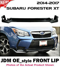 ** for SUBARU FORESTER XT 14 15 16 17 JDM SJ OE_style Front Lip (ABS PLASTIC) **
