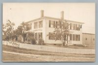 Wooden Colonial House RPPC South Barnstead NH Belknap County New Hampshire Photo
