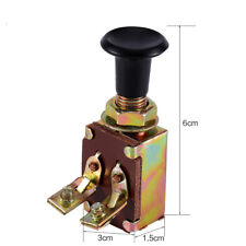 Adopting JK106 Pull Push Headlight Switch One Position 12V 5A For Car Auto Boat