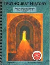 NEW TruthQuest History Guide AMERICAN HISTORY FOR YOUNG STUDENTS II 2 Homeschool