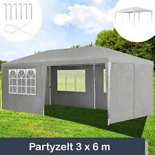 ArtLife 3x6m Pavillon mit Seitenwänden - Dunkelgrau (25442)