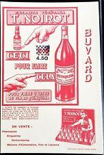 Ancien Buvard Extraits végétaux Noirot vin au Quinquina liqueurs
