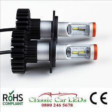 Latest LED Headlights H4 9200 Lumen Hi/Lo Beam Conversion 12V 16 x Z-ES Chips