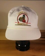 Vintage Opryland Nashville Train Railroad Hat Cap Snapback Country Music